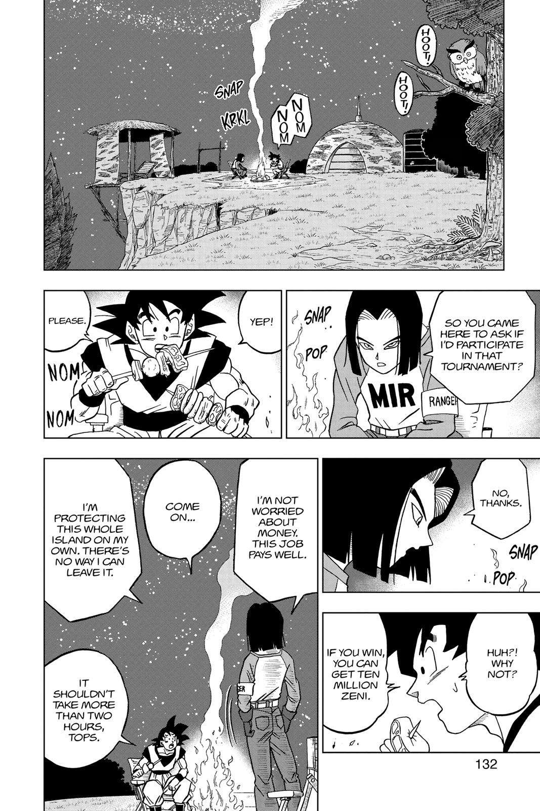 Dragon Ball Super Chapter 31 Page 34