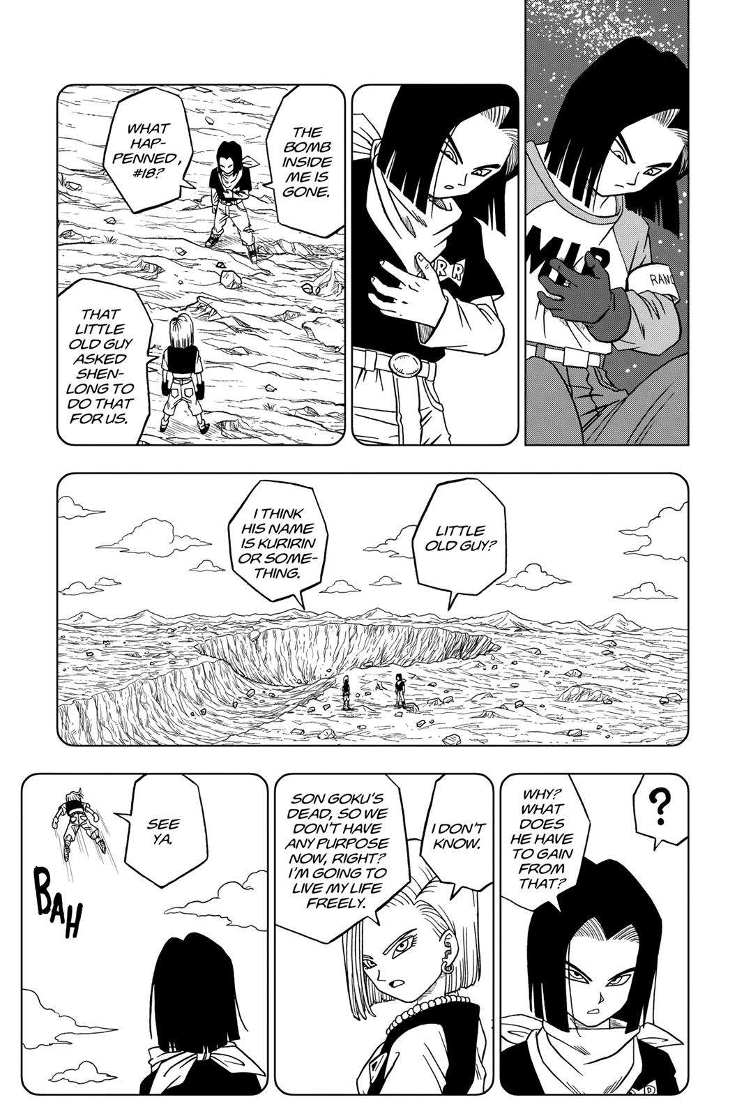 Dragon Ball Super Chapter 31 Page 37