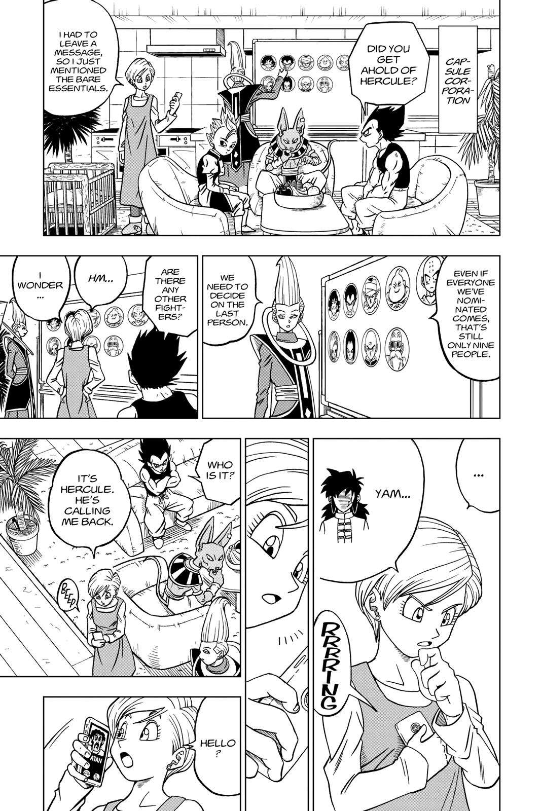 Dragon Ball Super Chapter 31 Page 41