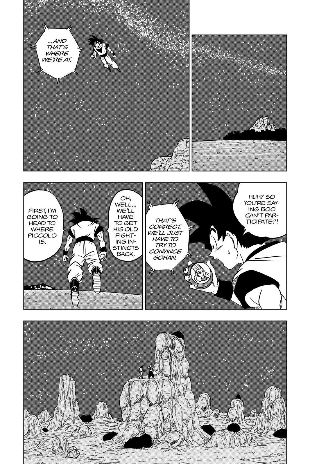 Dragon Ball Super Chapter 31 Page 44