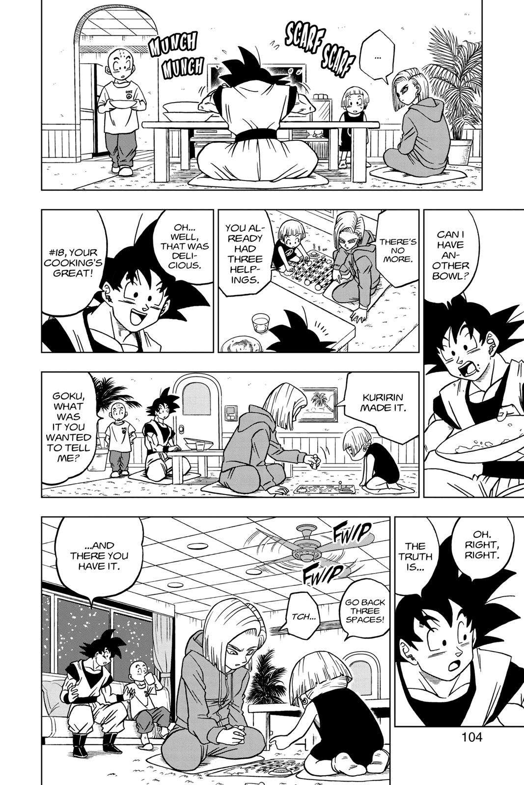 Dragon Ball Super Chapter 31 Page 6