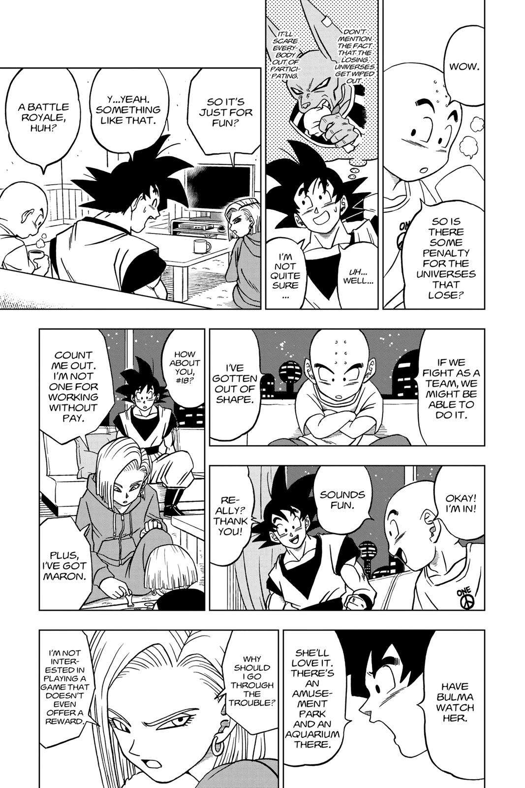 Dragon Ball Super Chapter 31 Page 7