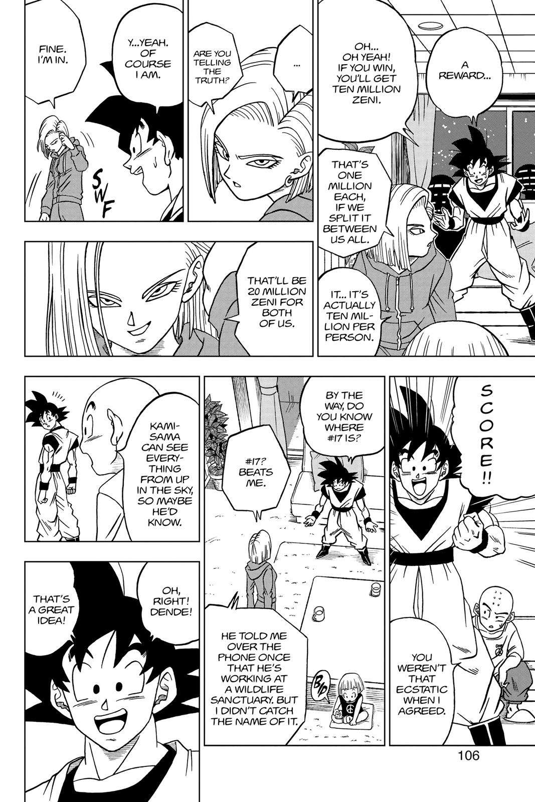 Dragon Ball Super Chapter 31 Page 8