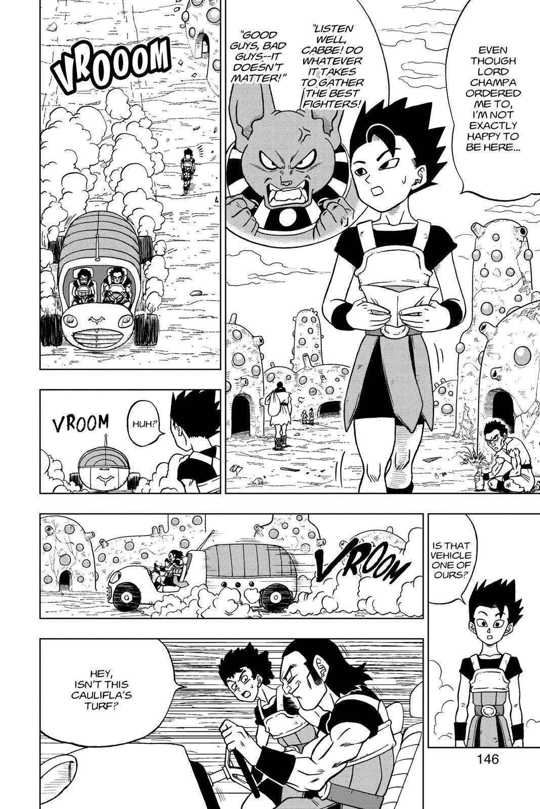 Dragon Ball Super Chapter 32 Page 2