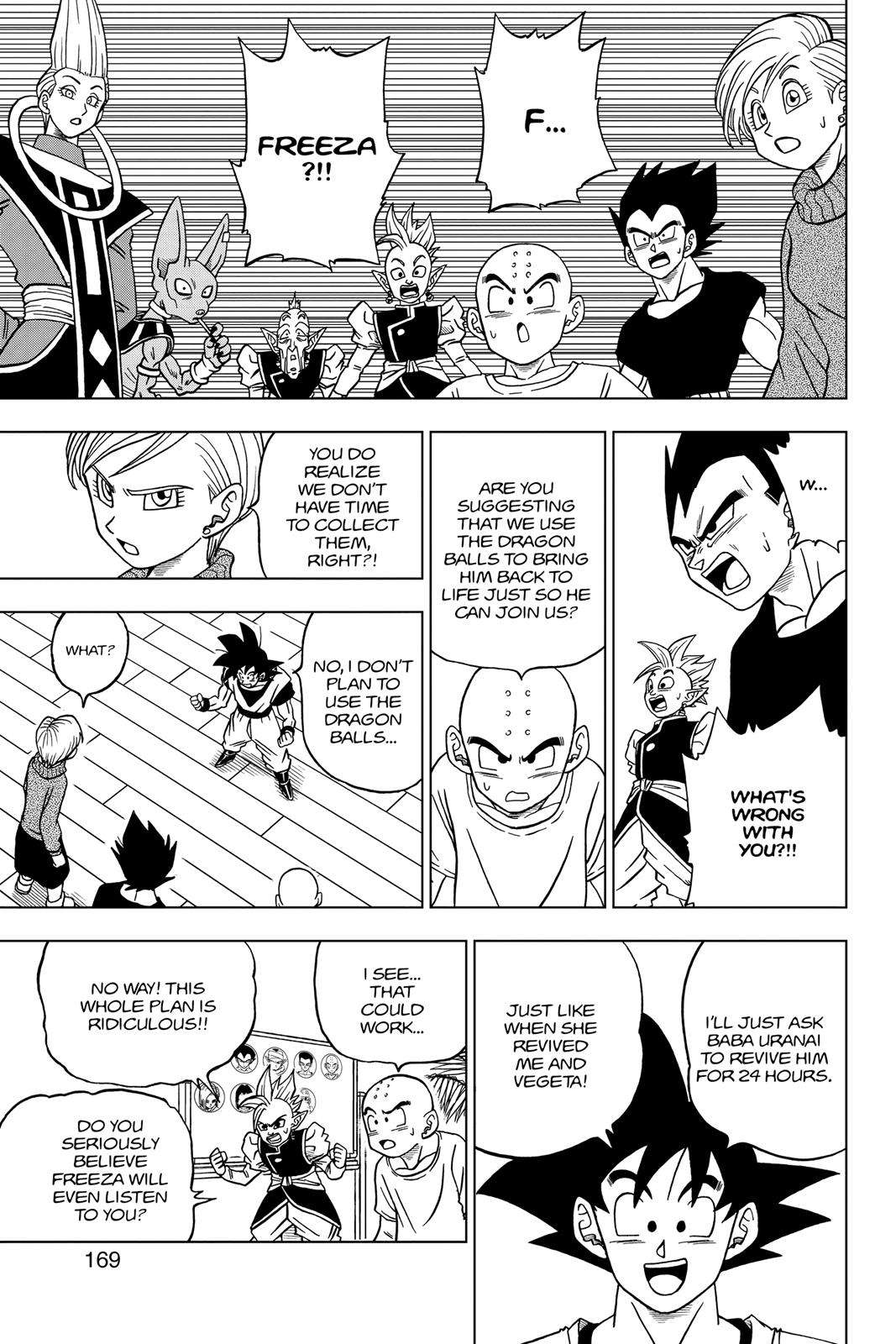 Dragon Ball Super Chapter 32 Page 25