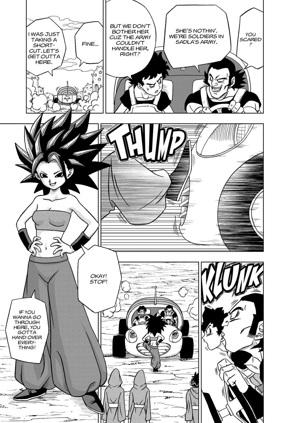 Dragon Ball Super Chapter 32 Page 3