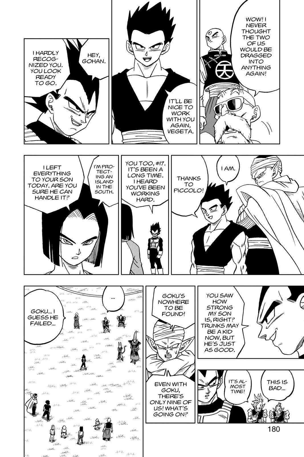 Dragon Ball Super Chapter 32 Page 36