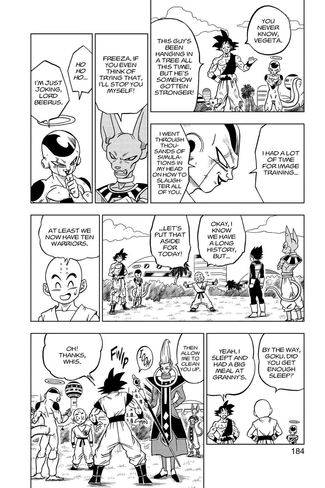 Dragon Ball Super Chapter 32 Page 40