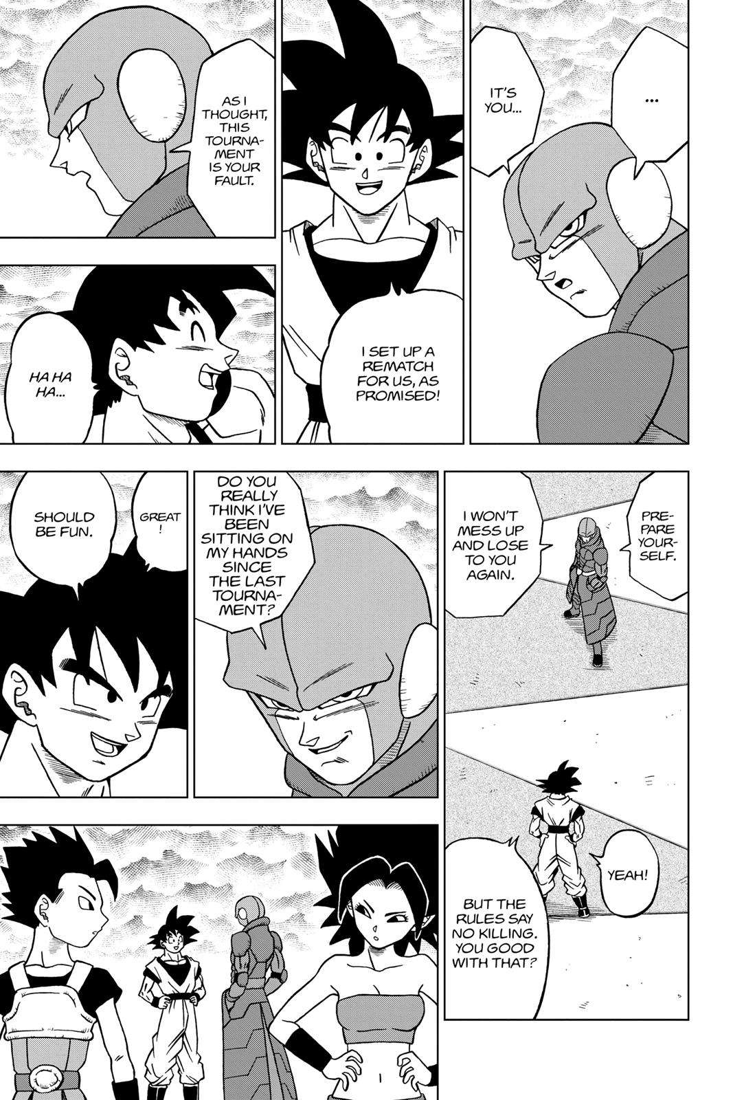 Dragon Ball Super Chapter 33 Page 13