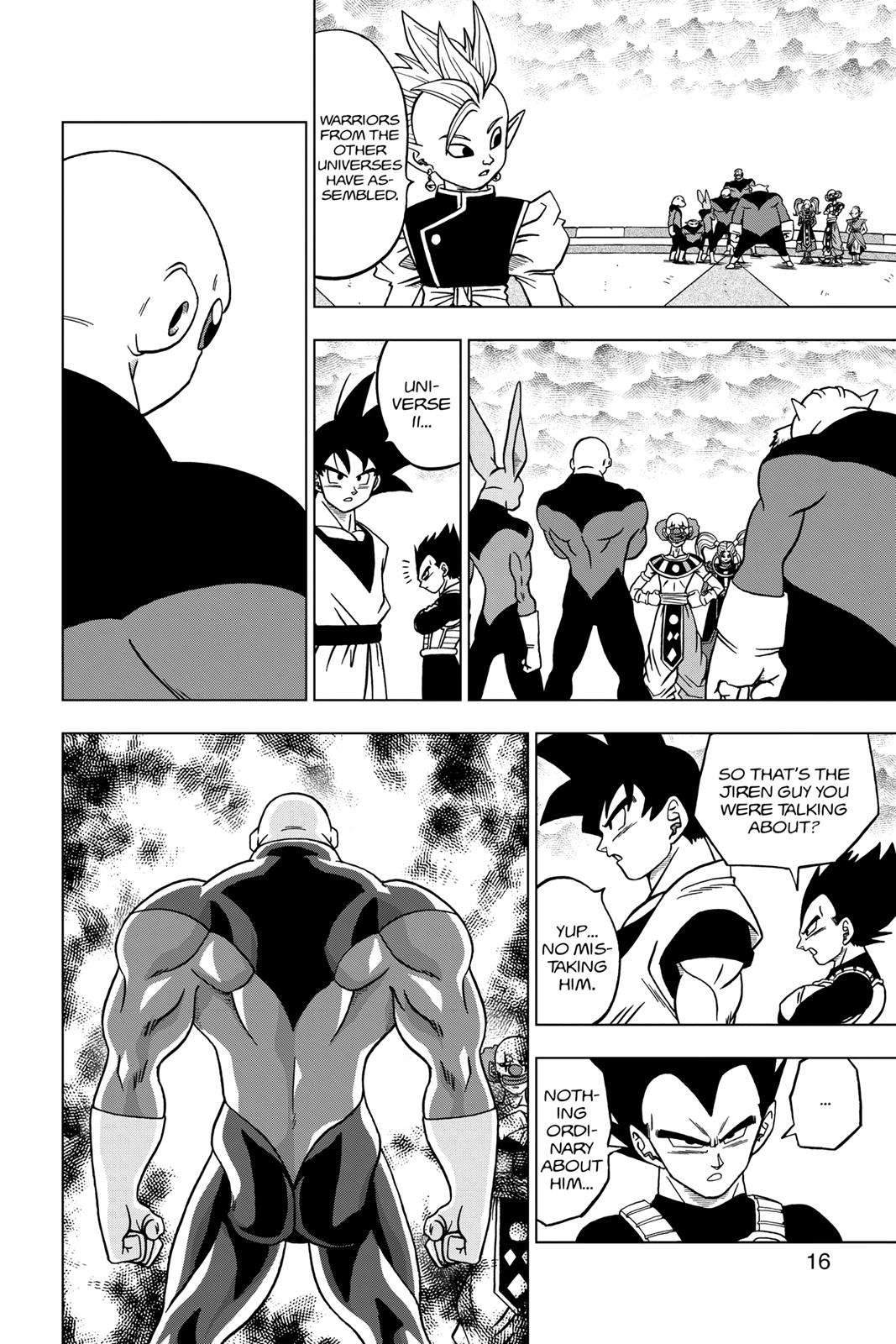 Dragon Ball Super Chapter 33 Page 16