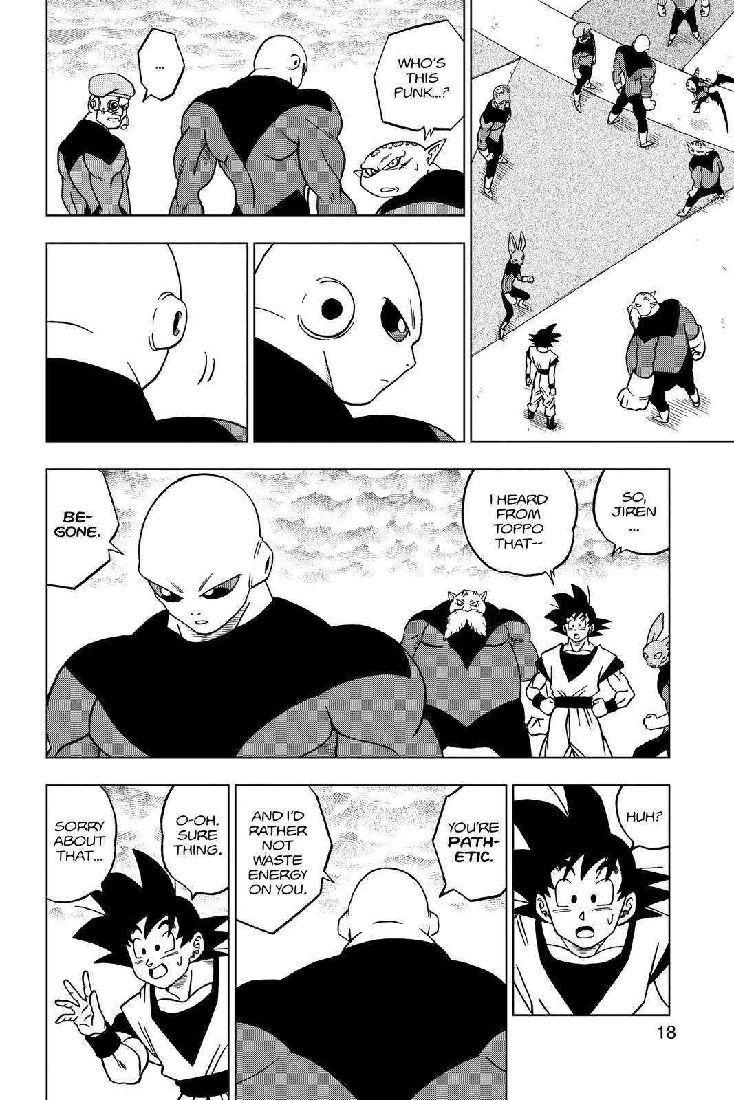 Dragon Ball Super Chapter 33 Page 18