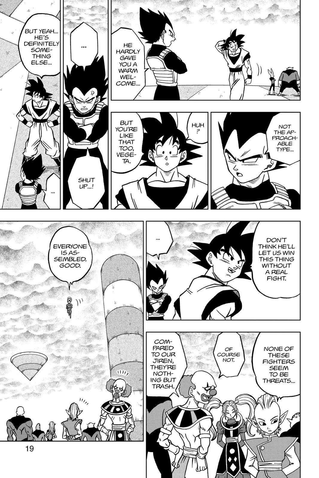 Dragon Ball Super Chapter 33 Page 19
