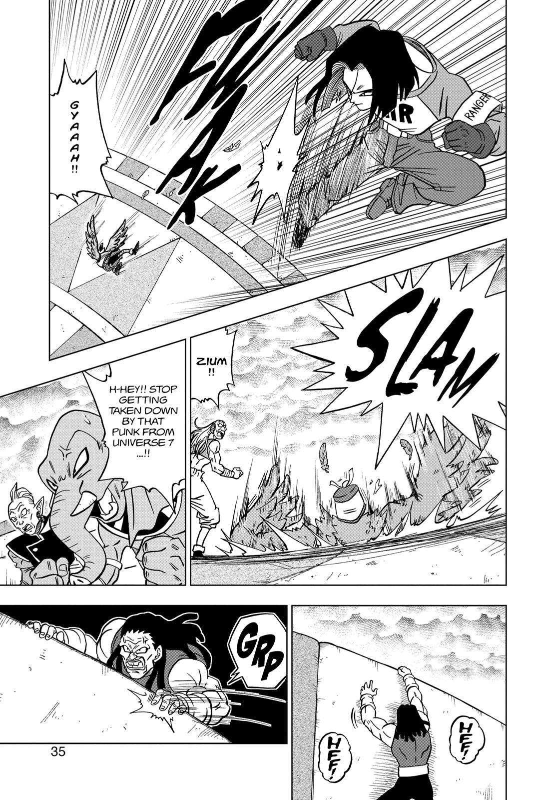 Dragon Ball Super Chapter 33 Page 34