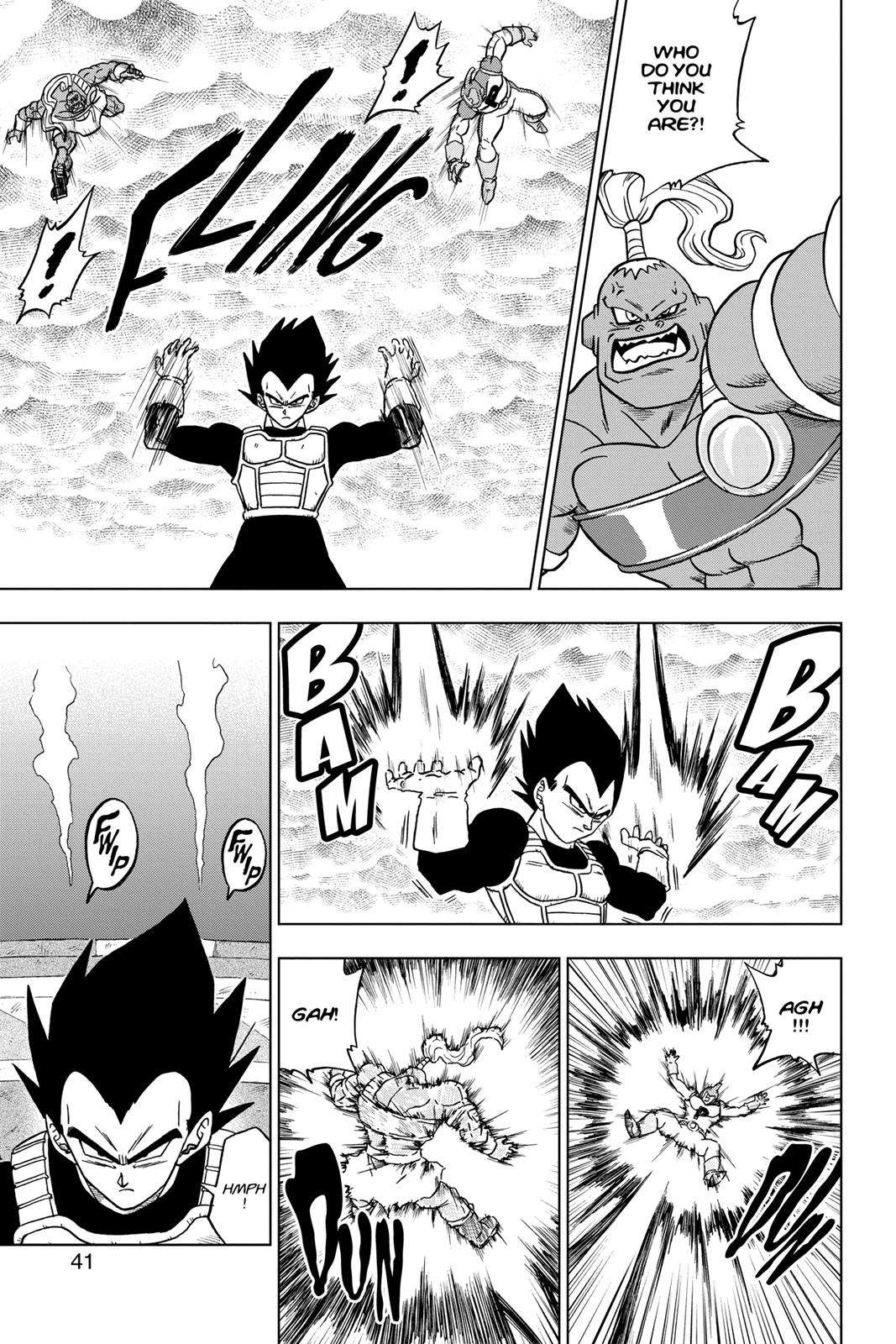 Dragon Ball Super Chapter 33 Page 40