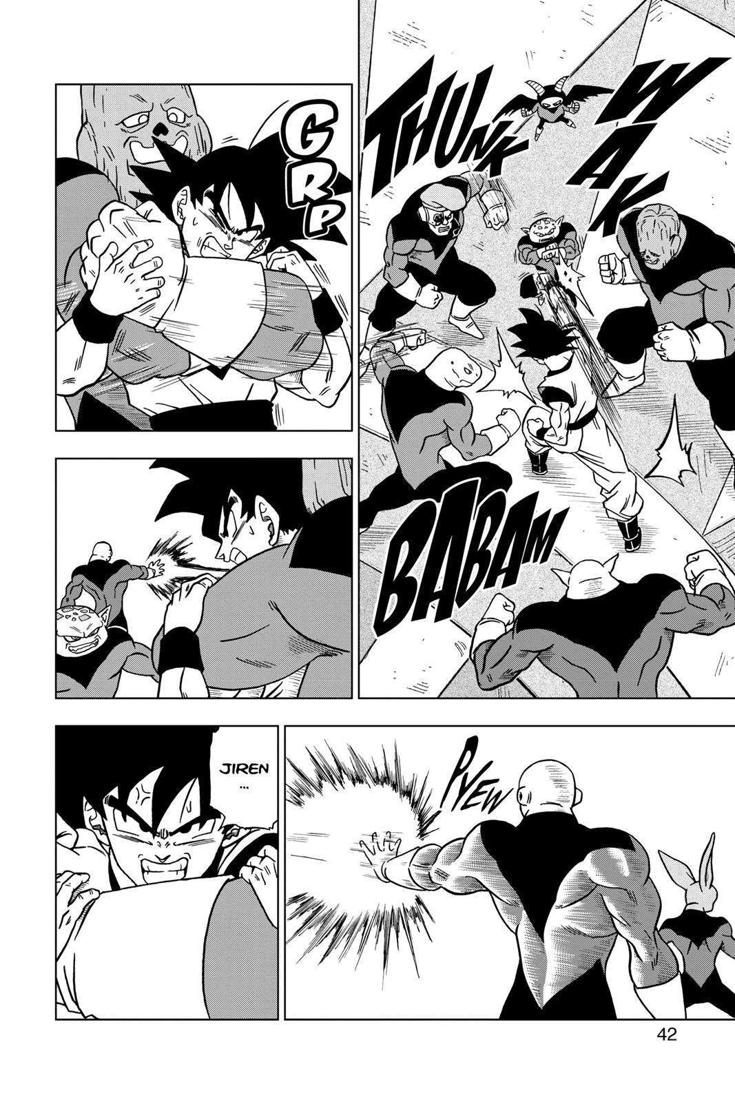 Dragon Ball Super Chapter 33 Page 41