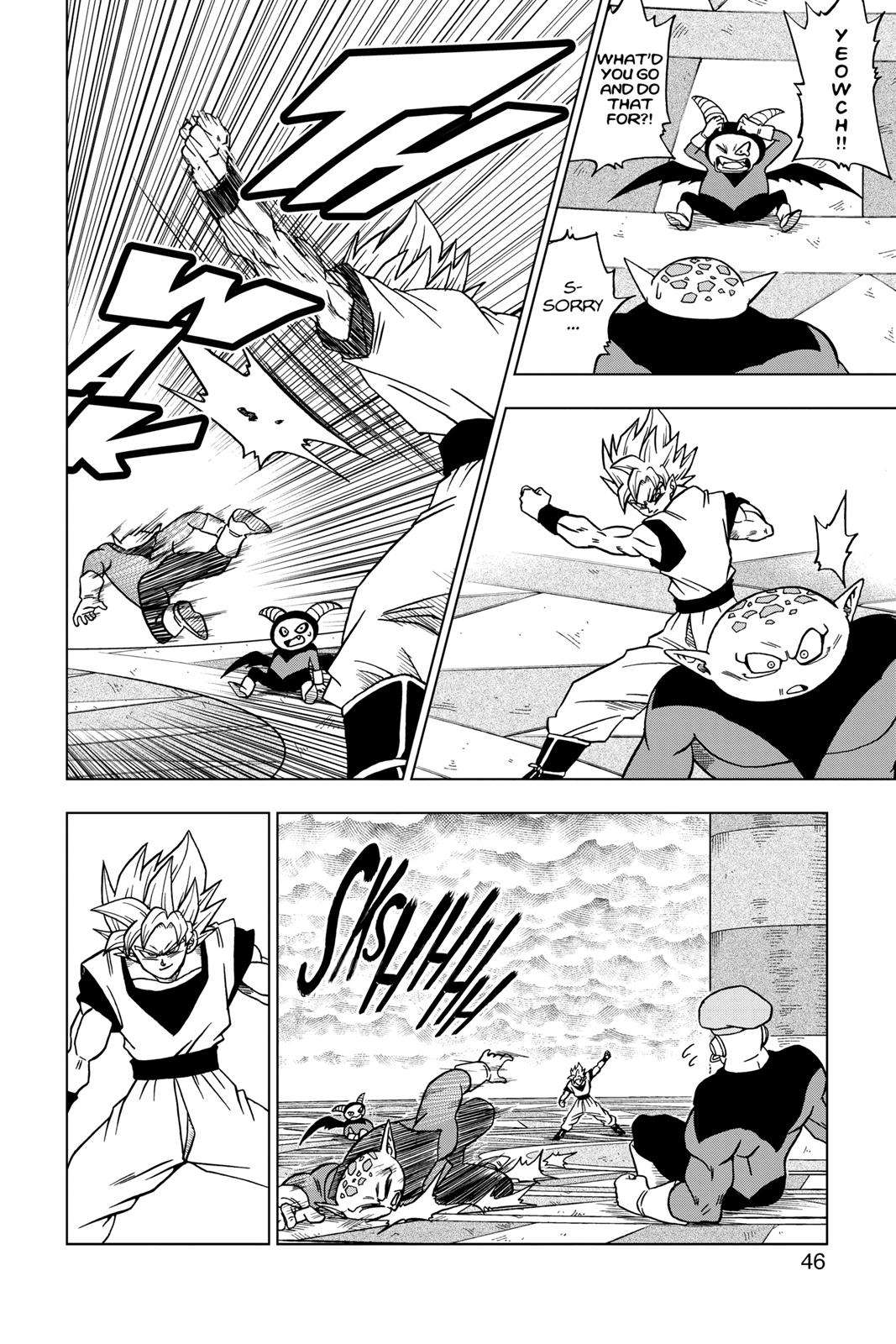 Dragon Ball Super Chapter 33 Page 45