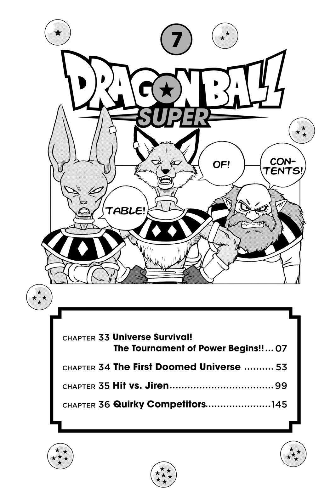 Dragon Ball Super Chapter 33 Page 6