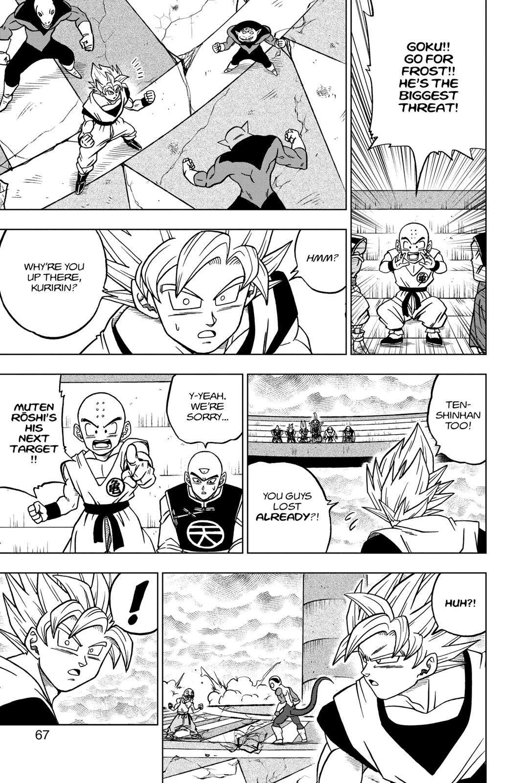 Dragon Ball Super Chapter 34 Page 15