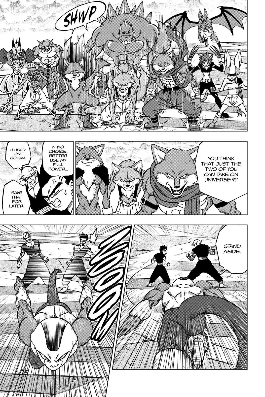 Dragon Ball Super Chapter 34 Page 23