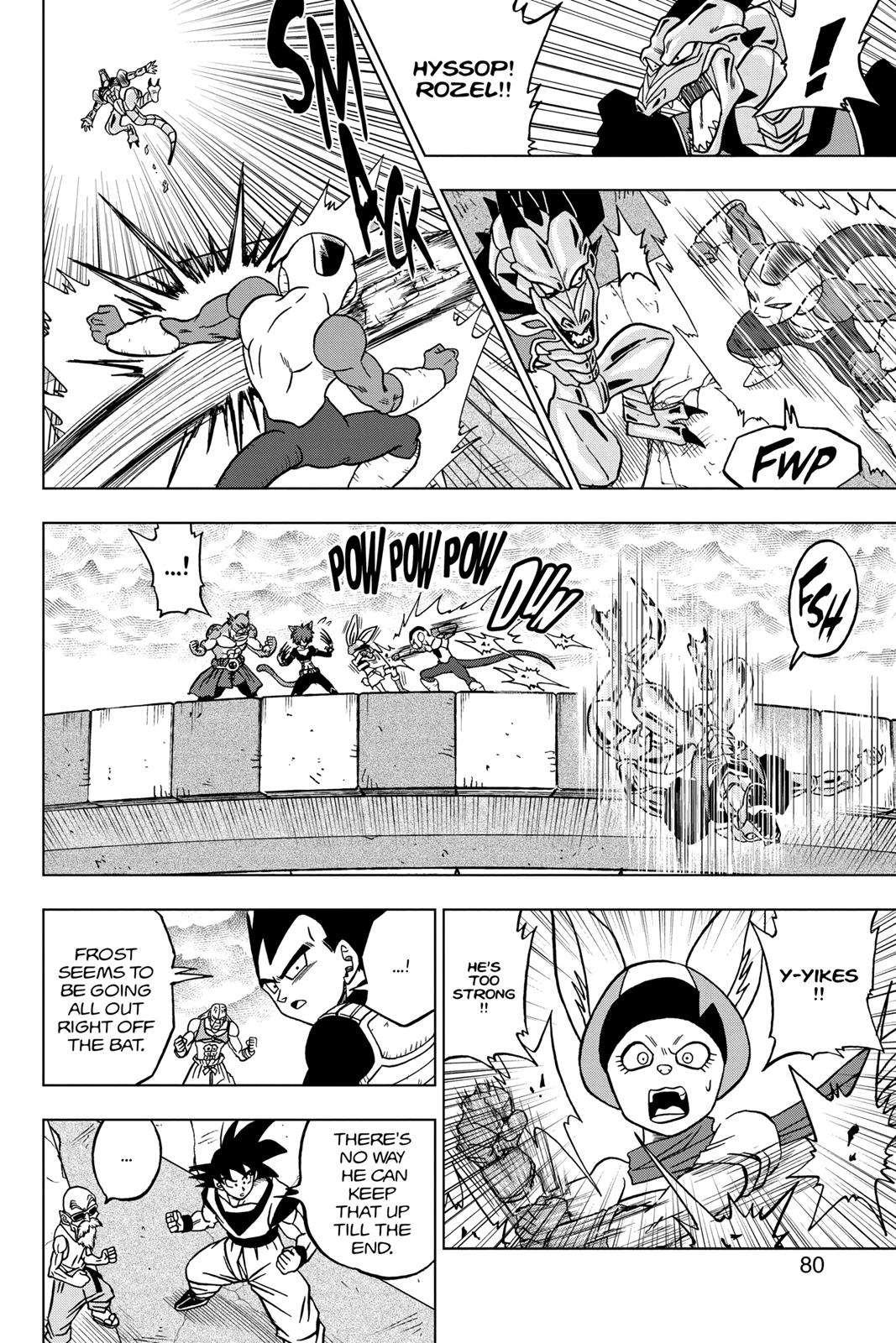 Dragon Ball Super Chapter 34 Page 28