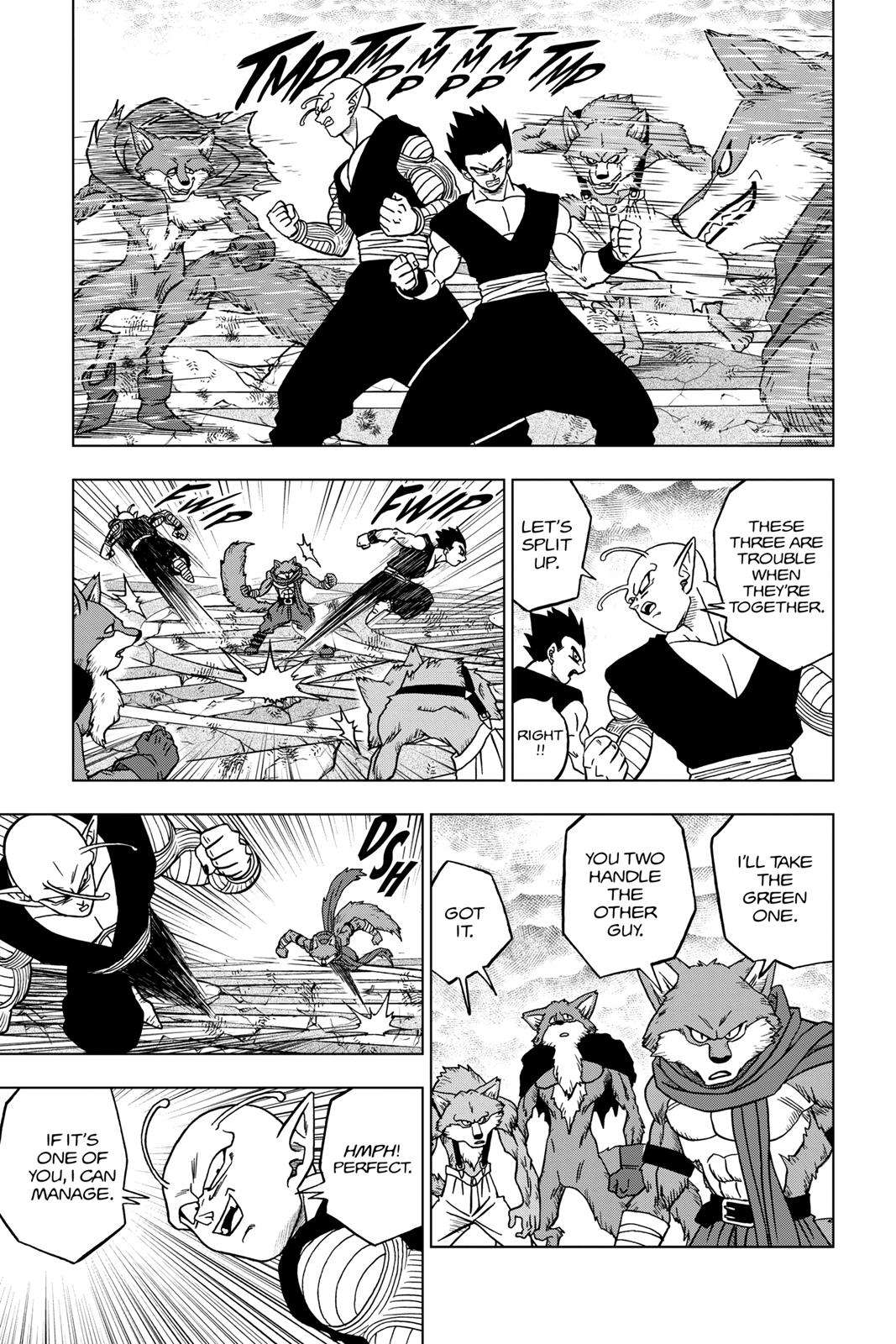 Dragon Ball Super Chapter 34 Page 35
