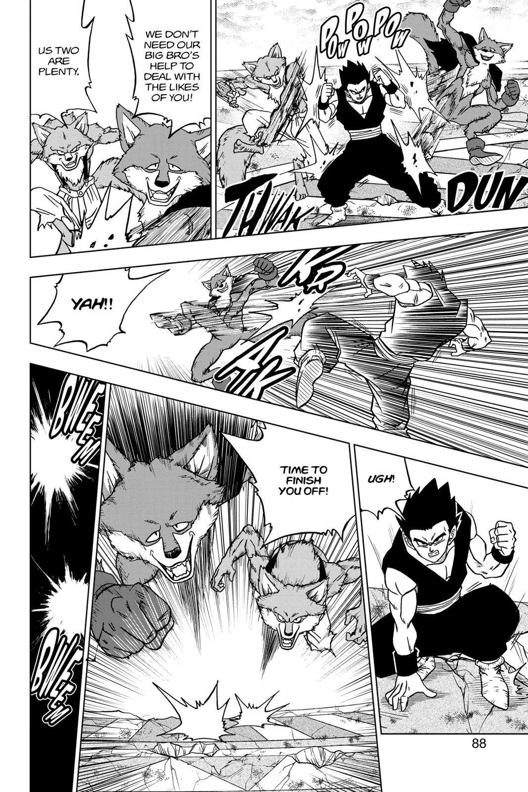 Dragon Ball Super Chapter 34 Page 36
