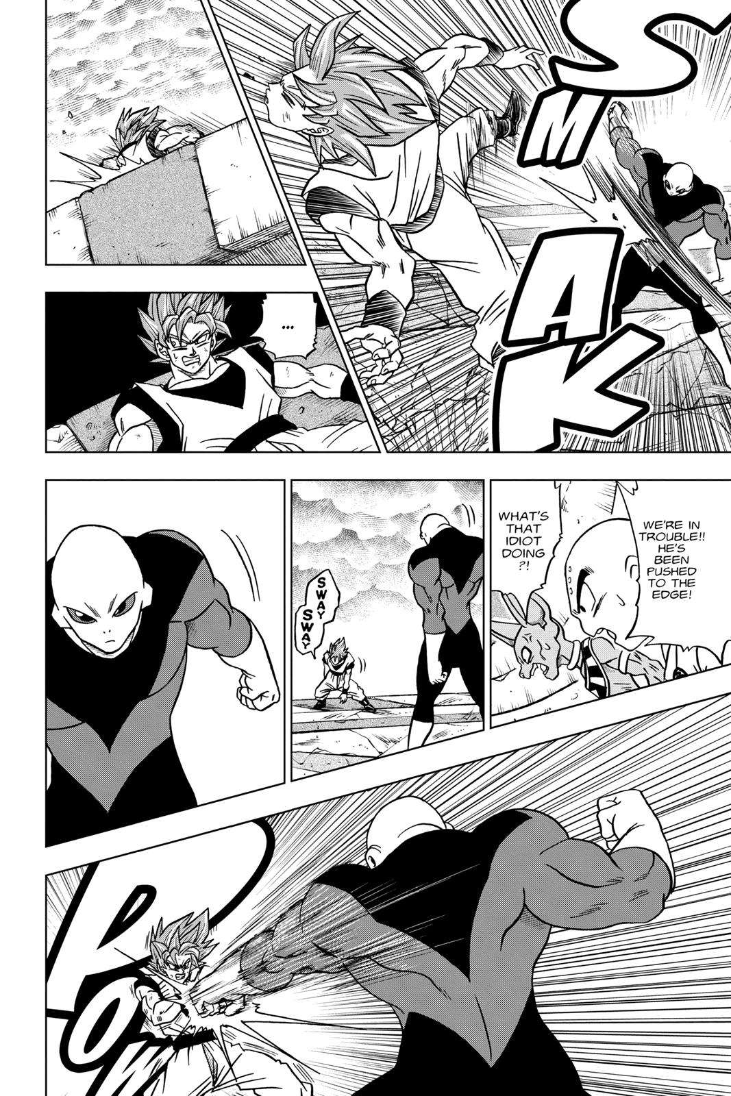 Dragon Ball Super Chapter 35 Page 20
