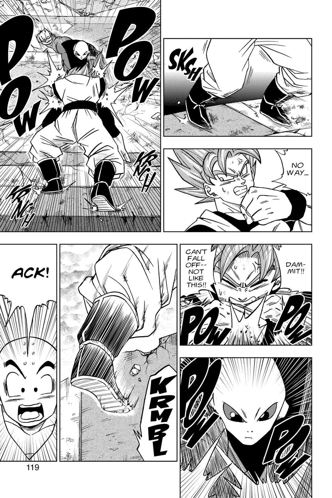 Dragon Ball Super Chapter 35 Page 21