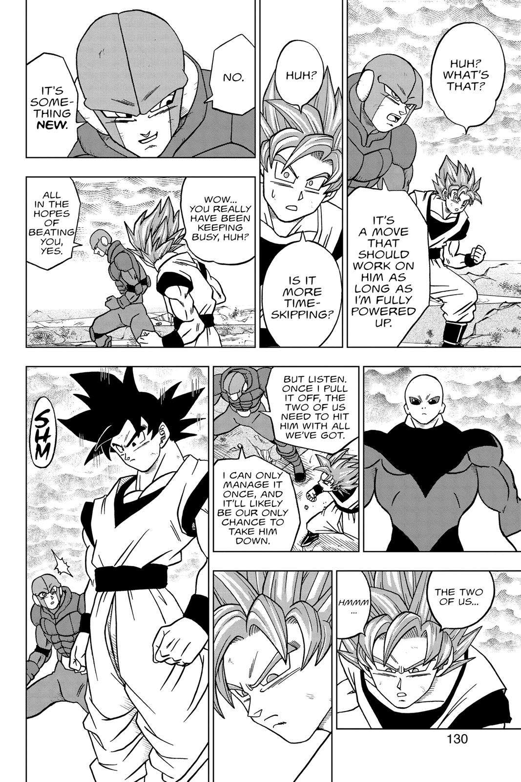 Dragon Ball Super Chapter 35 Page 32