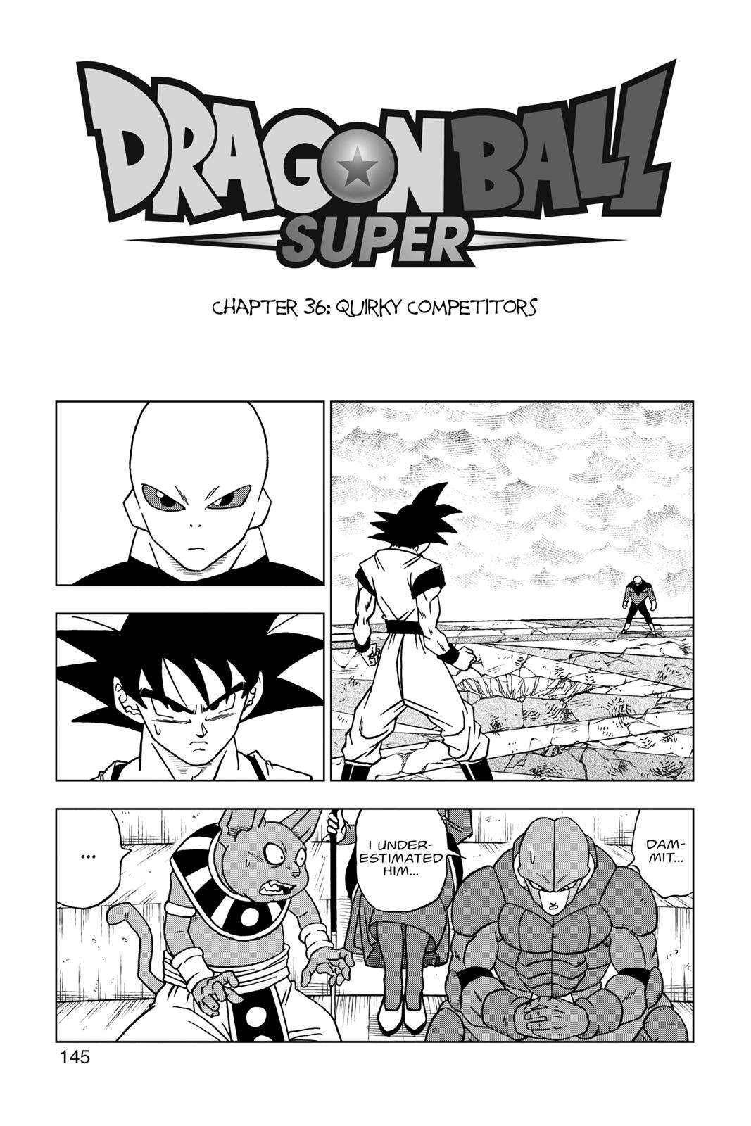 Dragon Ball Super Chapter 36 Page 1