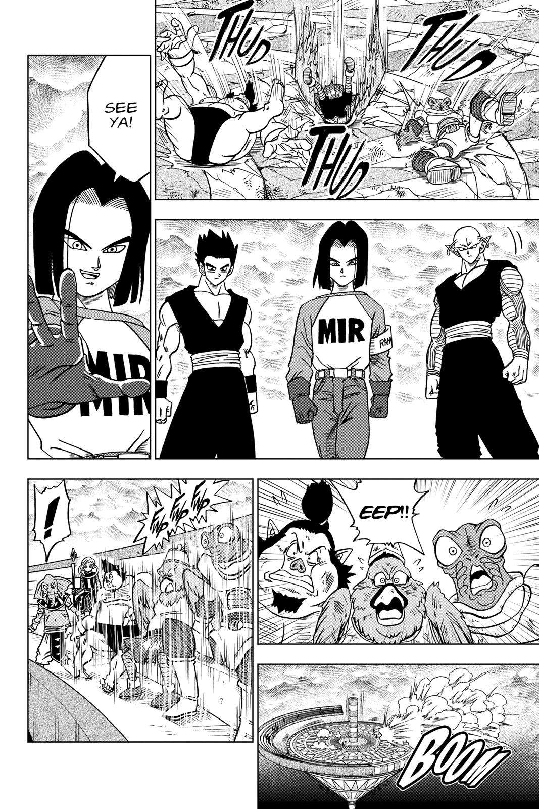 Dragon Ball Super Chapter 36 Page 14