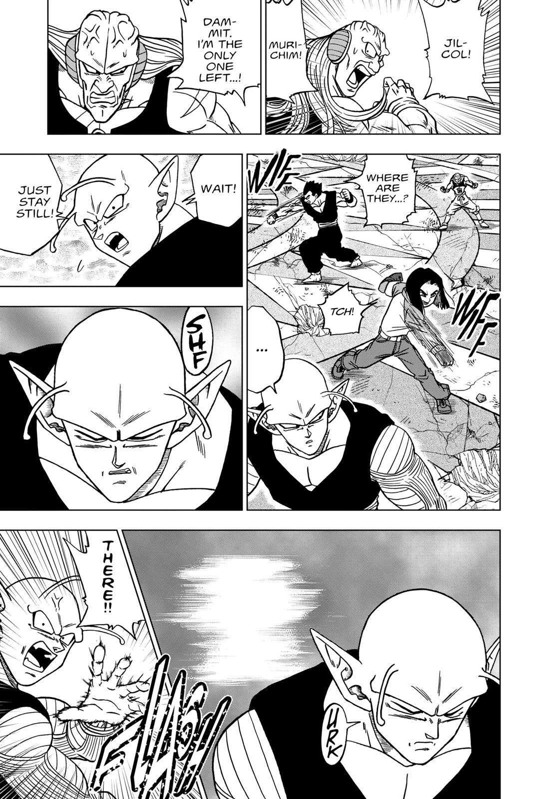 Dragon Ball Super Chapter 36 Page 33