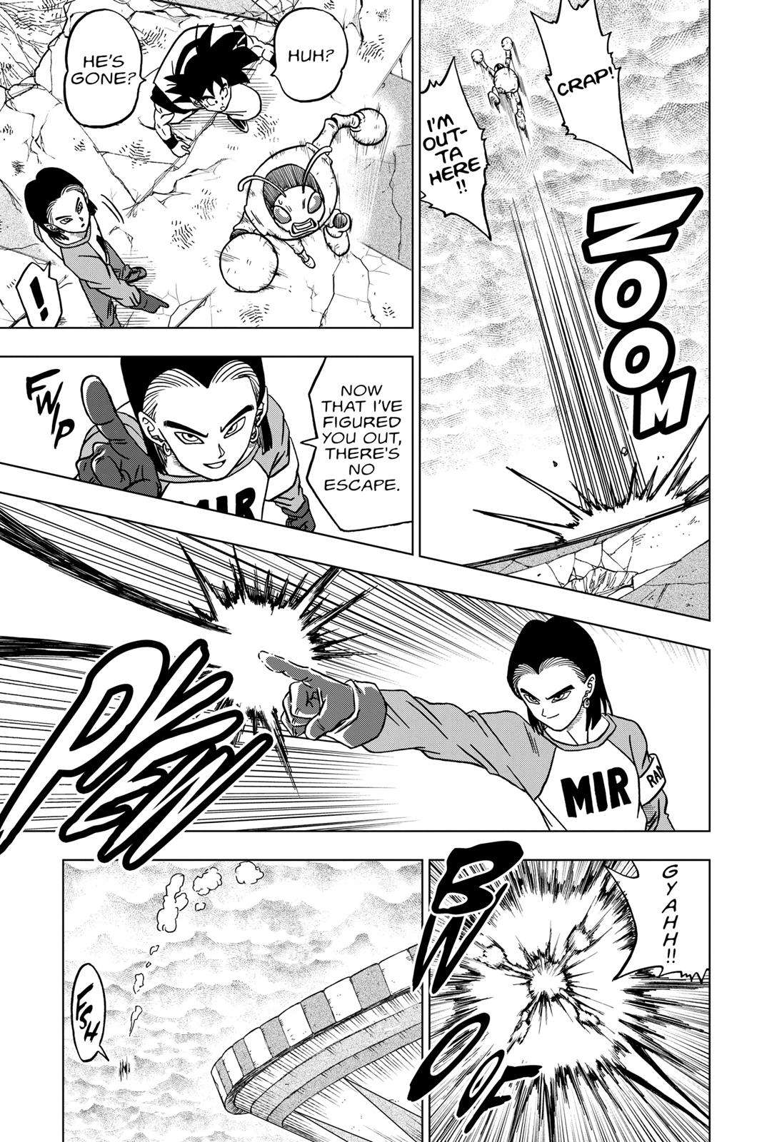 Dragon Ball Super Chapter 36 Page 43