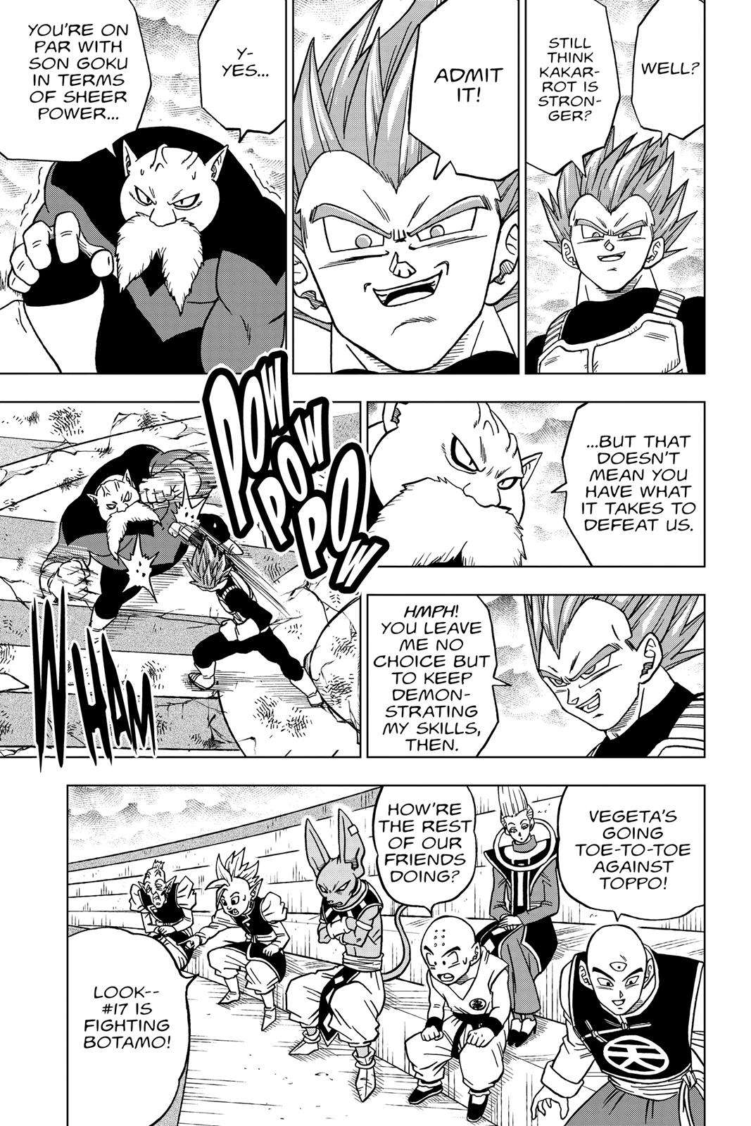 Dragon Ball Super Chapter 36 Page 7