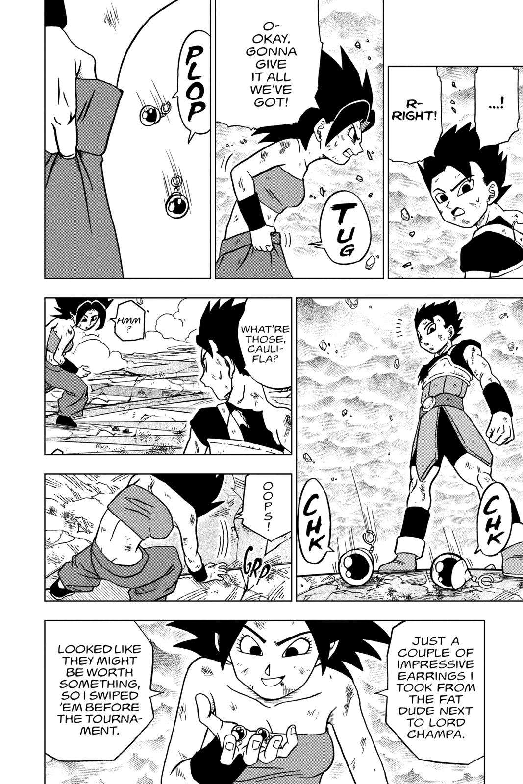 Dragon Ball Super Chapter 38 Page 28