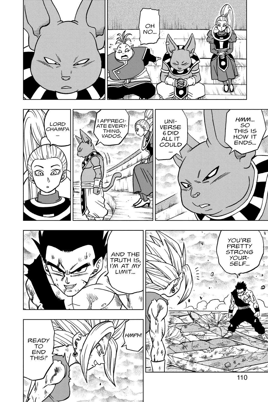 Dragon Ball Super Chapter 39 Page 12