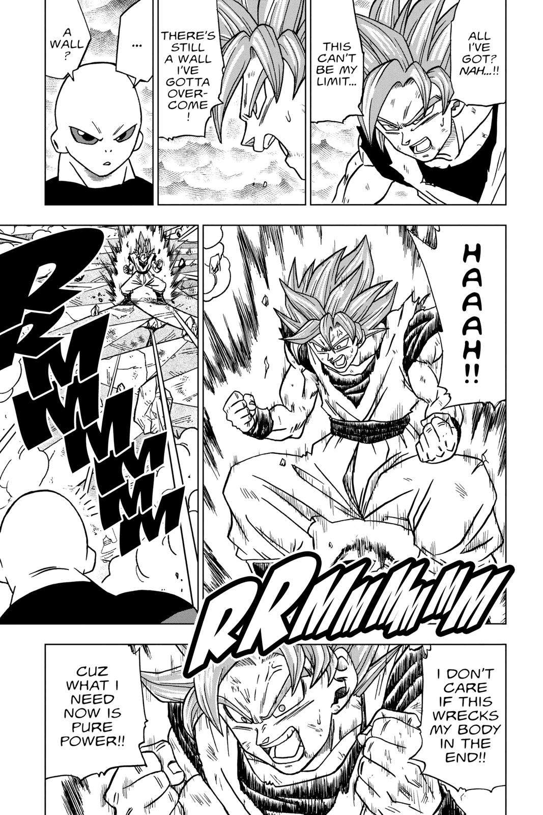 Dragon Ball Super Chapter 39 Page 21