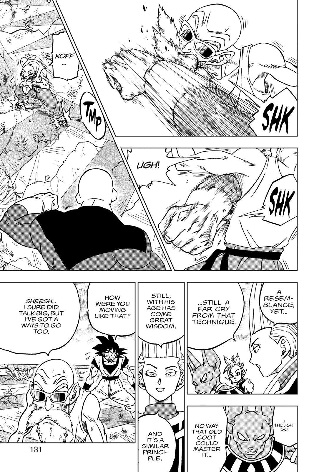 Dragon Ball Super Chapter 39 Page 33