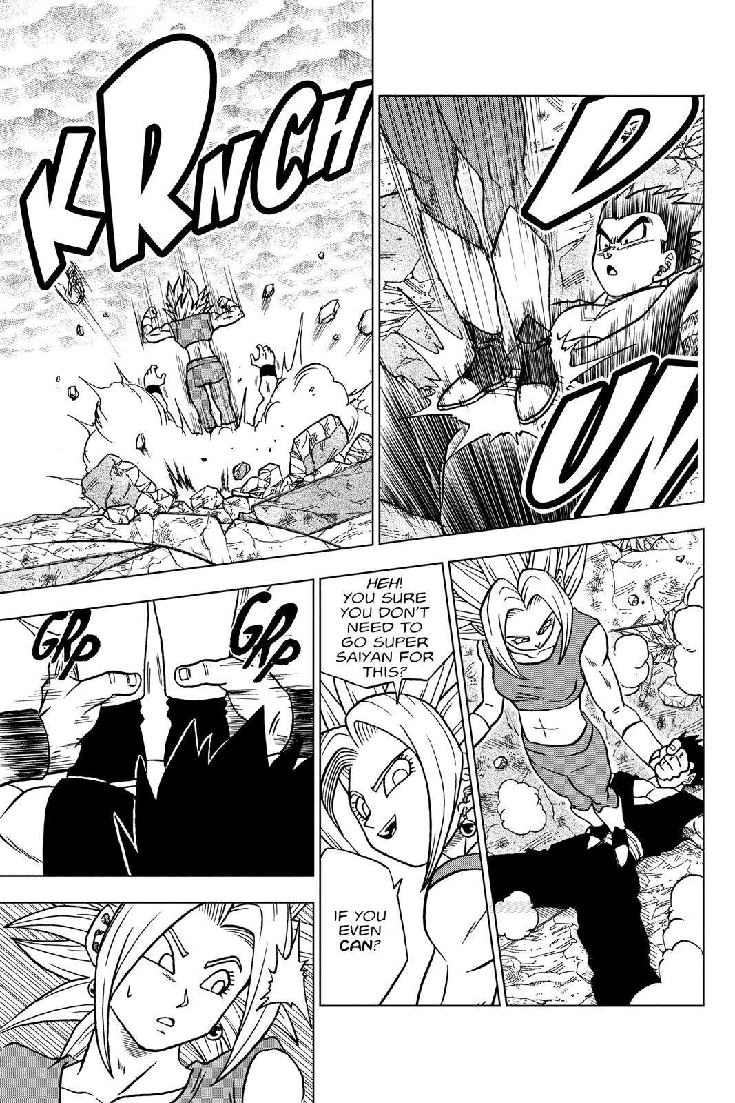 Dragon Ball Super Chapter 39 Page 5