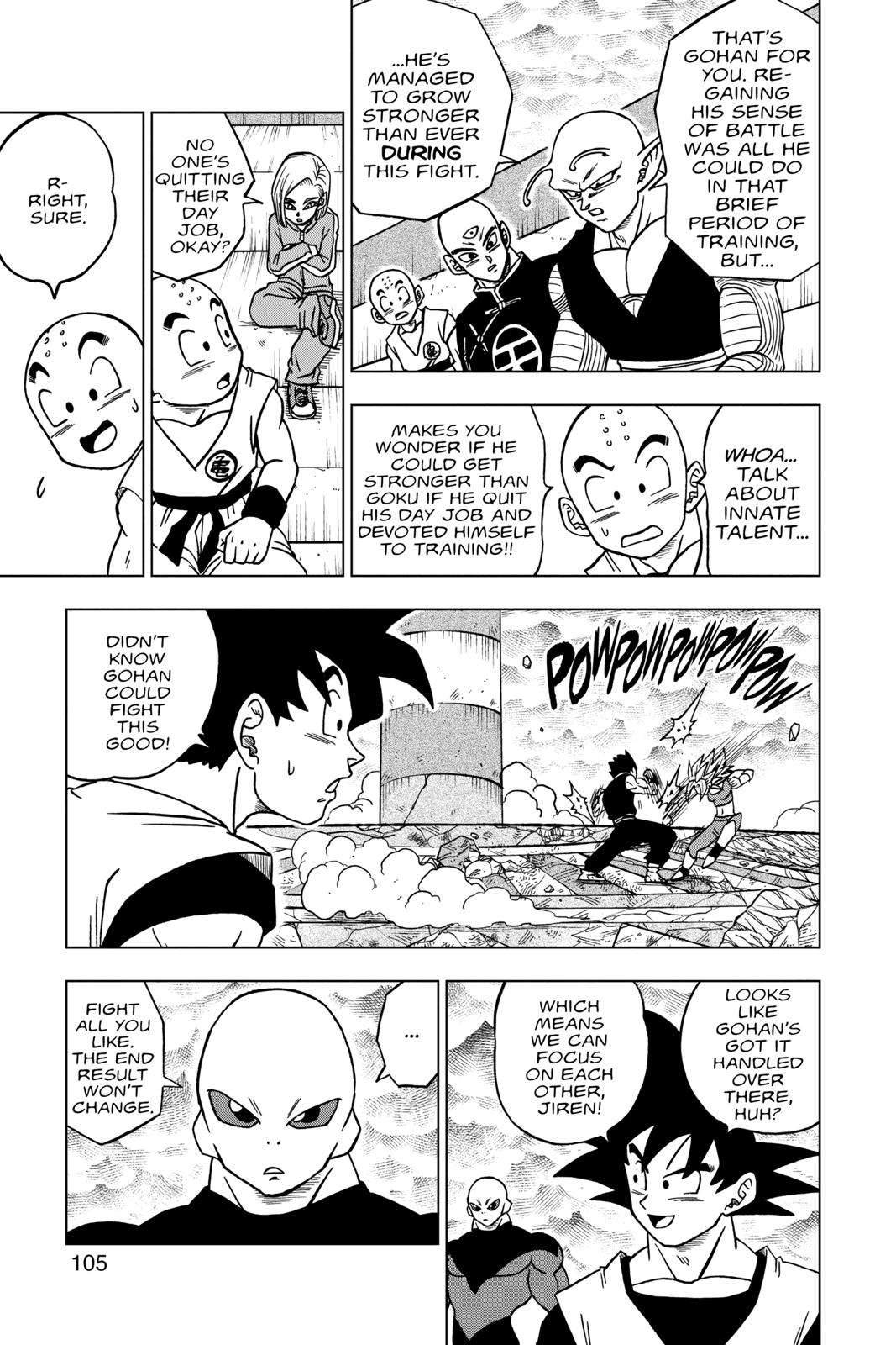Dragon Ball Super Chapter 39 Page 7