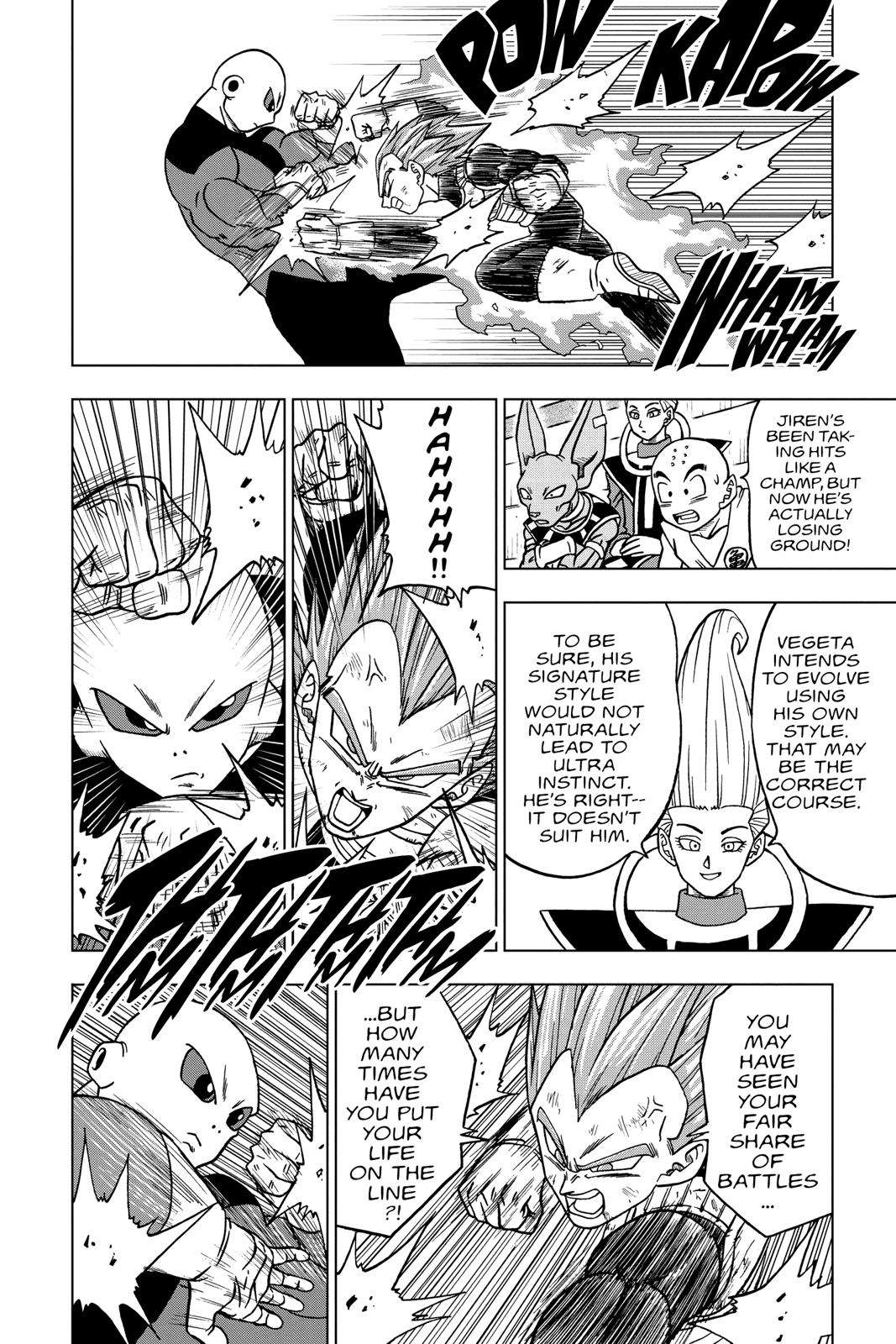 Dragon Ball Super Chapter 40 Page 10