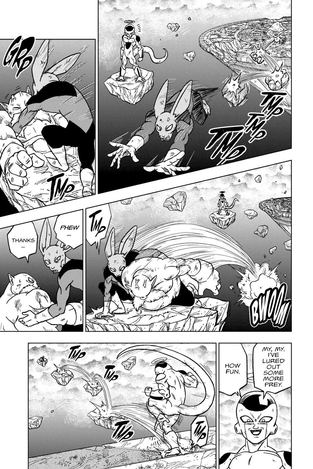 Dragon Ball Super Chapter 40 Page 19