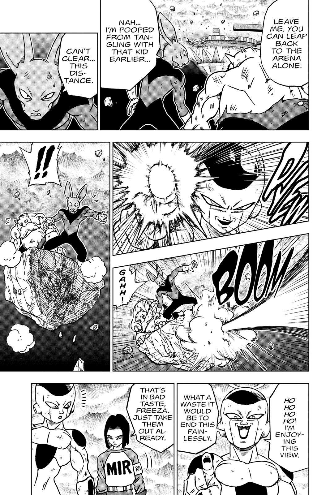 Dragon Ball Super Chapter 40 Page 21