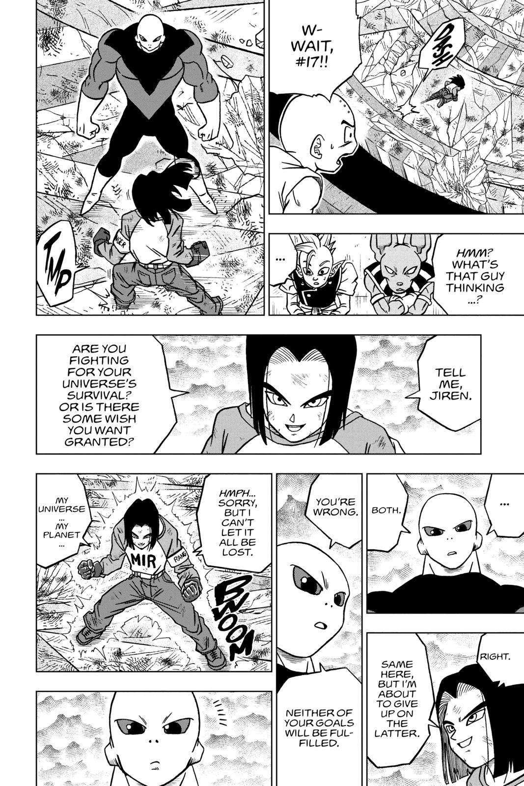 Dragon Ball Super Chapter 40 Page 38