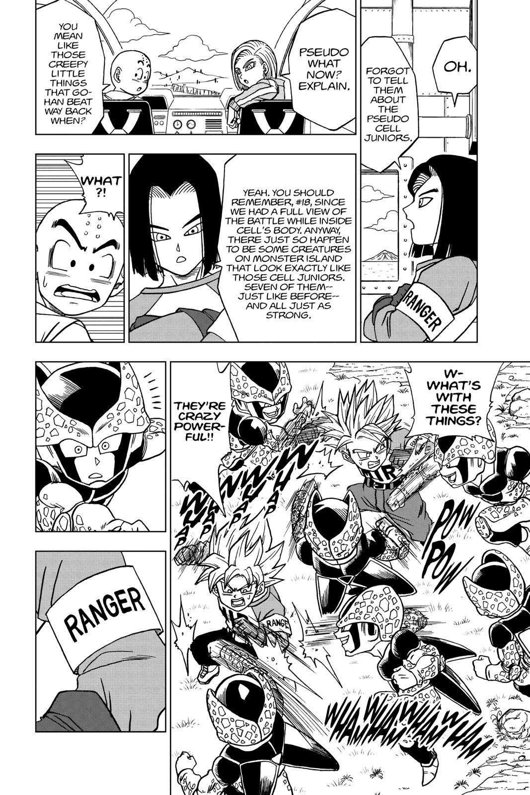 Dragon Ball Super Chapter 40 Page 50