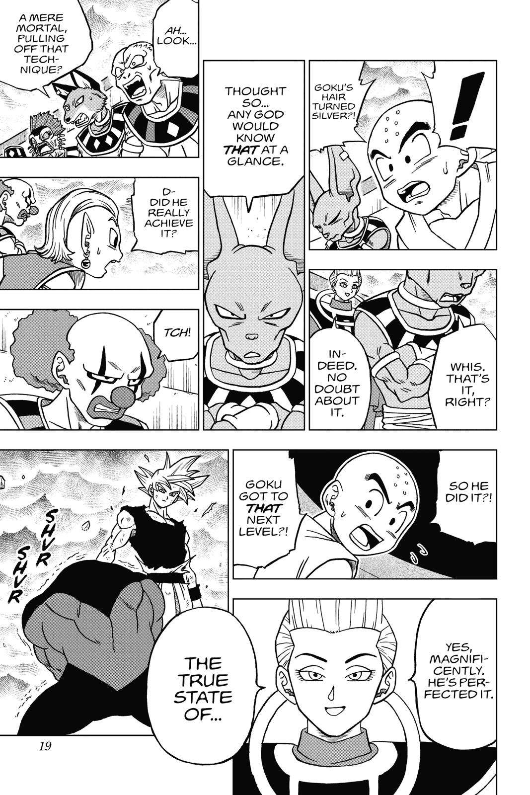 Dragon Ball Super Chapter 41 Page 19