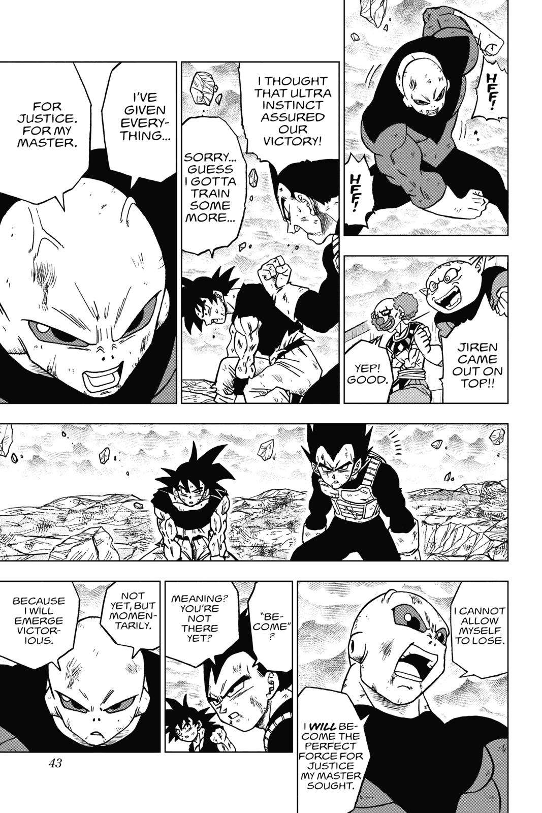 Dragon Ball Super Chapter 41 Page 43