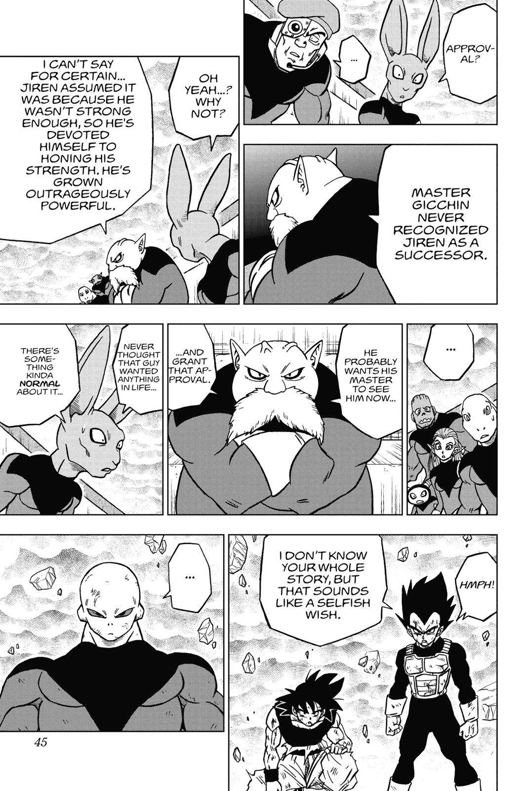 Dragon Ball Super Chapter 41 Page 45