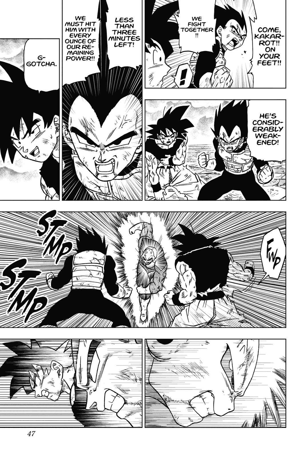 Dragon Ball Super Chapter 41 Page 47