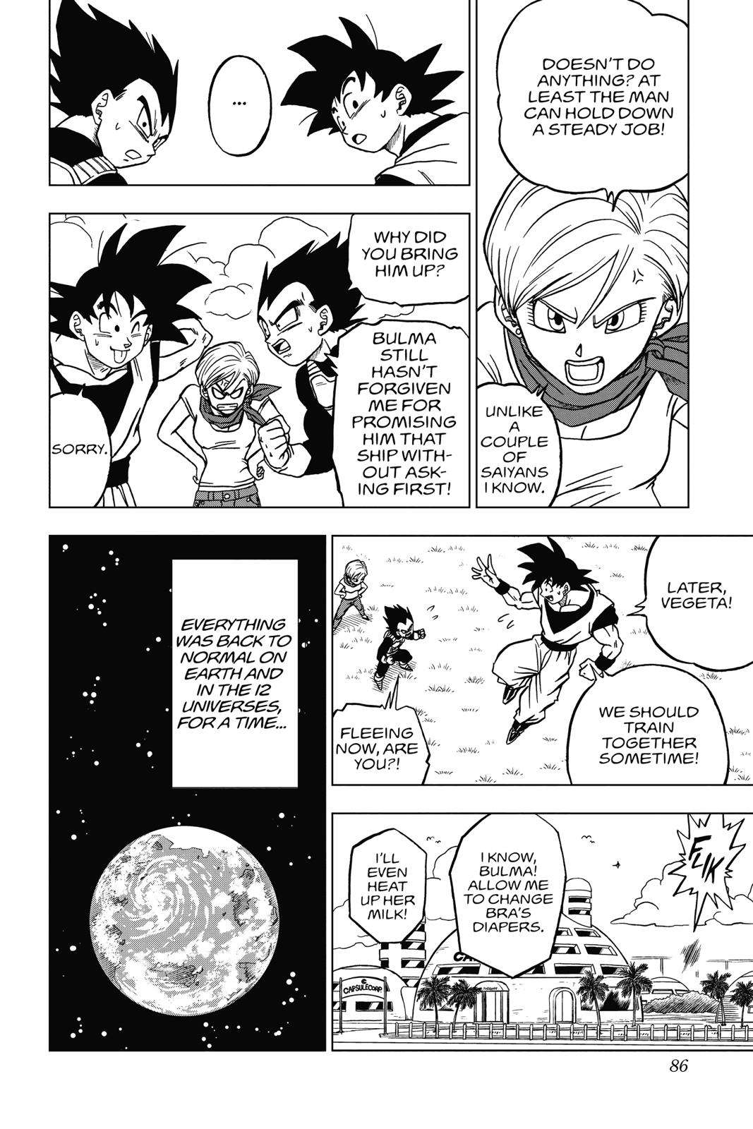 Dragon Ball Super Chapter 42 Page 33